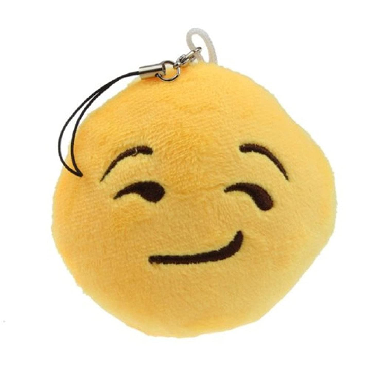 Magic Finger Kawaii funny Emoticon Key Chain Soft Toy Gift Pendant Bag Accessory