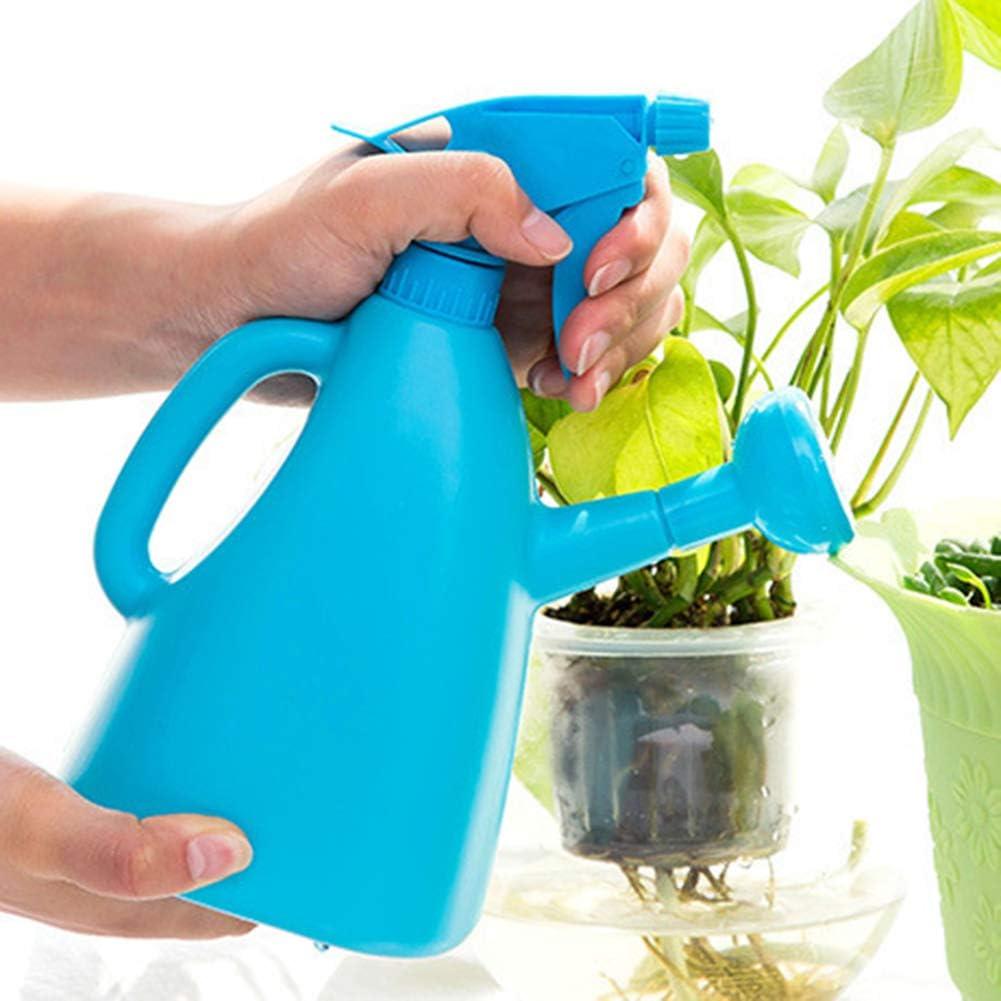 Misszhang-US Handheld Garden Plant Watering Can Pot Press Type ...