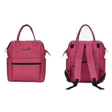 Yulan cochecito de bebé bolsa de pañales pañales Nappy multifunción de gran capacidad mochila de viaje