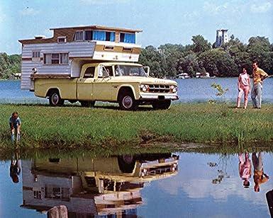 Amazon Com 1968 Dodge D200 Crew Cab Pickup Camper Motorhome Rv
