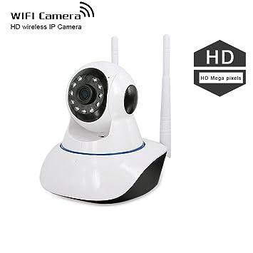 IP CAM Dome WiFi & Vigilancia Cámara con monitor – Cámara de seguridad Mini Wifi Cámara