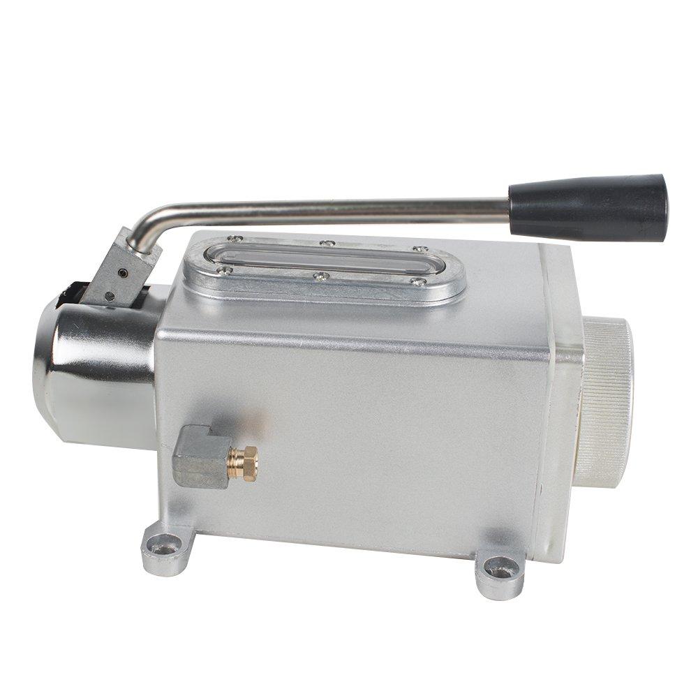 Vinmax Handle Lubricating Oil Pump Manual Lubricator Pump for Punching Machine/Grinding Machine/Milling Machine/Shearing Machine/Compound Machine/Cutting Machine/Weaving Machine