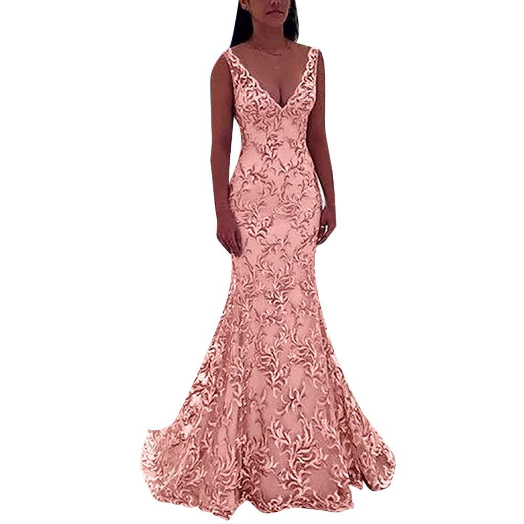 Amazon Dresses For Womens Wocachi Sleeveless V Neck Wedding