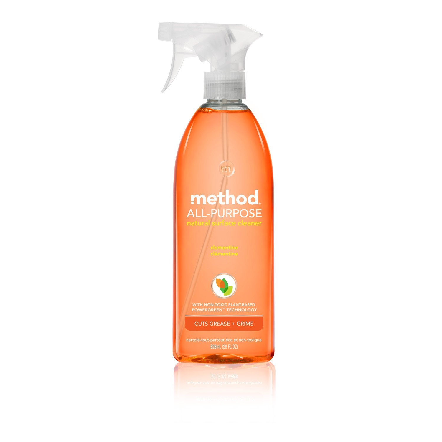 Method All Purpose Cleaning Spray 28oz, Clementine (Pack of 2)