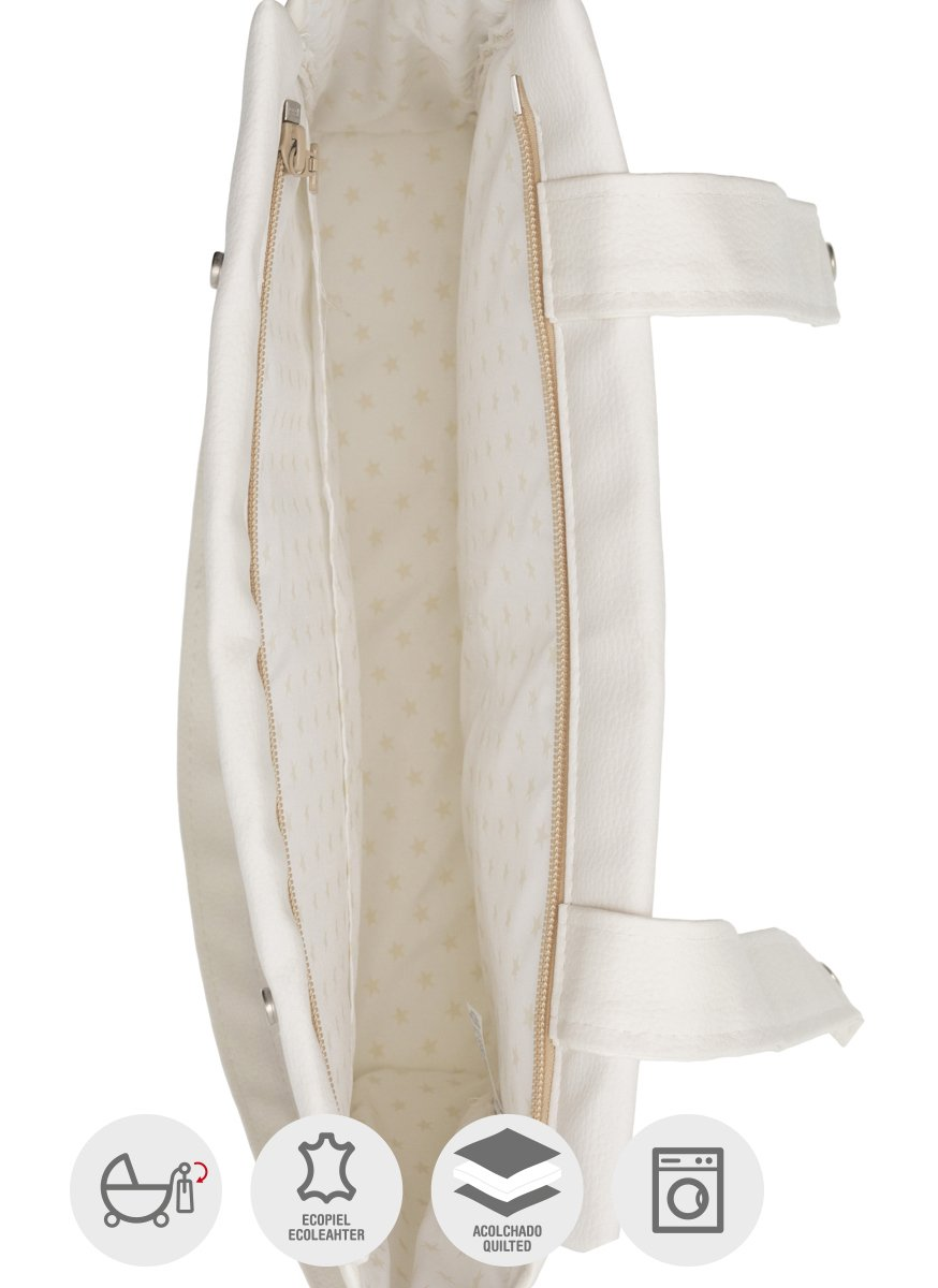 Bolso panadera color beige 13 x 40 x 33 cm Cambrass Basic