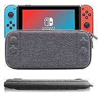 IFORU Funda para Nintendo Switch Estuche/Case Protector de Tela Oxford para Nintendo Switch (Ultra Delgado)
