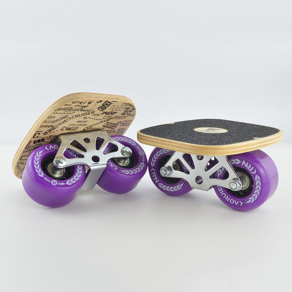 最終決算 ドリフトボードフリーラインスケートフラッシュ大人の子供四輪スプリットスケートボード輸送道路スクラブ手塗りパターン B07FLTNLTQ B07FLTNLTQ Purple Purple Purple Purple, 華麗:929d00ee --- a0267596.xsph.ru