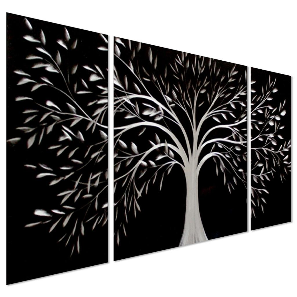 Black and white tree wall art m wall decal for Black and white tree mural