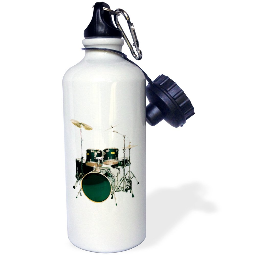 3dRose wb/_4100/_1 Grand Piano Sports Water Bottle White 21 oz