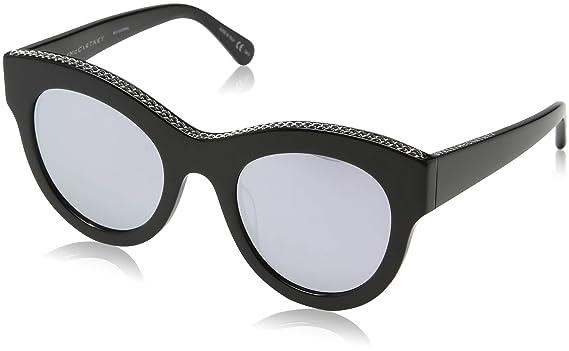 Stella McCartney SC0018S 005 Gafas de Sol, Negro (005-Black ...