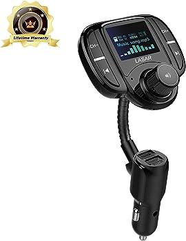 Lasar In-Car Bluetooth FM Transmitter
