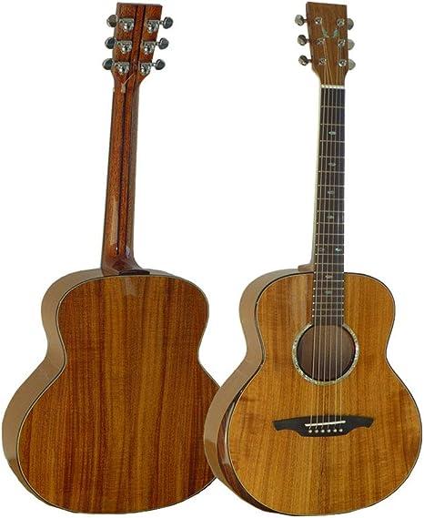 NUYI Guitarra Acústica De Gama Alta De Viaje De 36 Pulgadas ...
