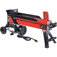 Yescom 2000W 7 Ton Electrical Hydraulic Log Splitter Firewood Wood Portable Cutter Powerful