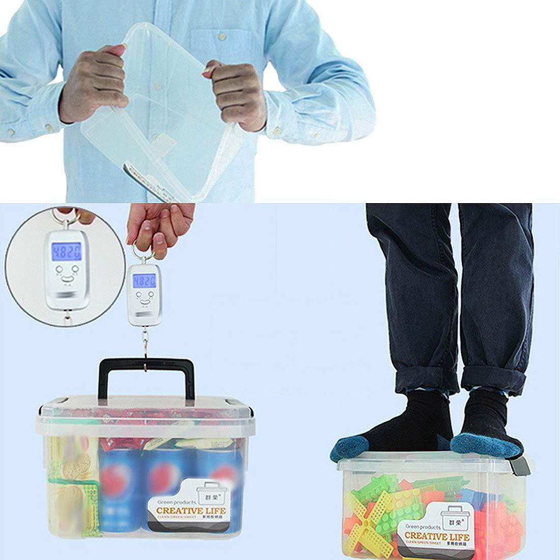 Jiyaru Caja Botiqu/ín Primeros Auxilios con Tapa de Gran Capacidad Botiqu/ín de Primeros Auxilios Estuche M/édico Port/átil para Familiar Caja de Almacaneje Amarillo S