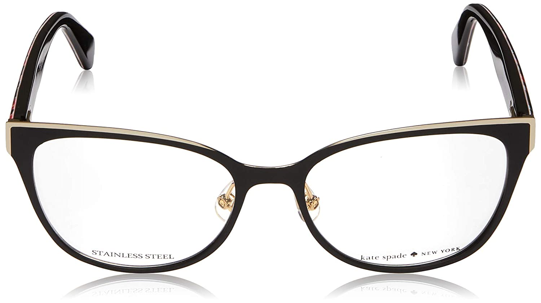 538b01d66d8 Eyeglasses Kate Spade Vandra 0807 Black at Amazon Men s Clothing store