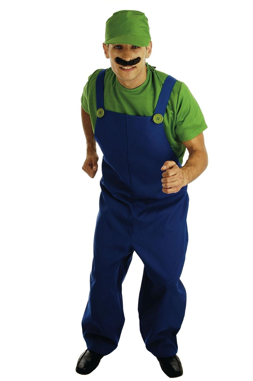 Fun Shack - Disfraz de súper Mario Bros para hombre, talla M ...