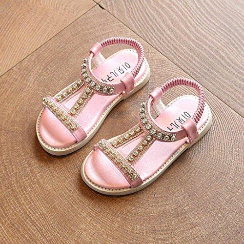 Prevently Baby Mädchen Sandalen Kinder Strass Sandalen Roman Schuhe ...