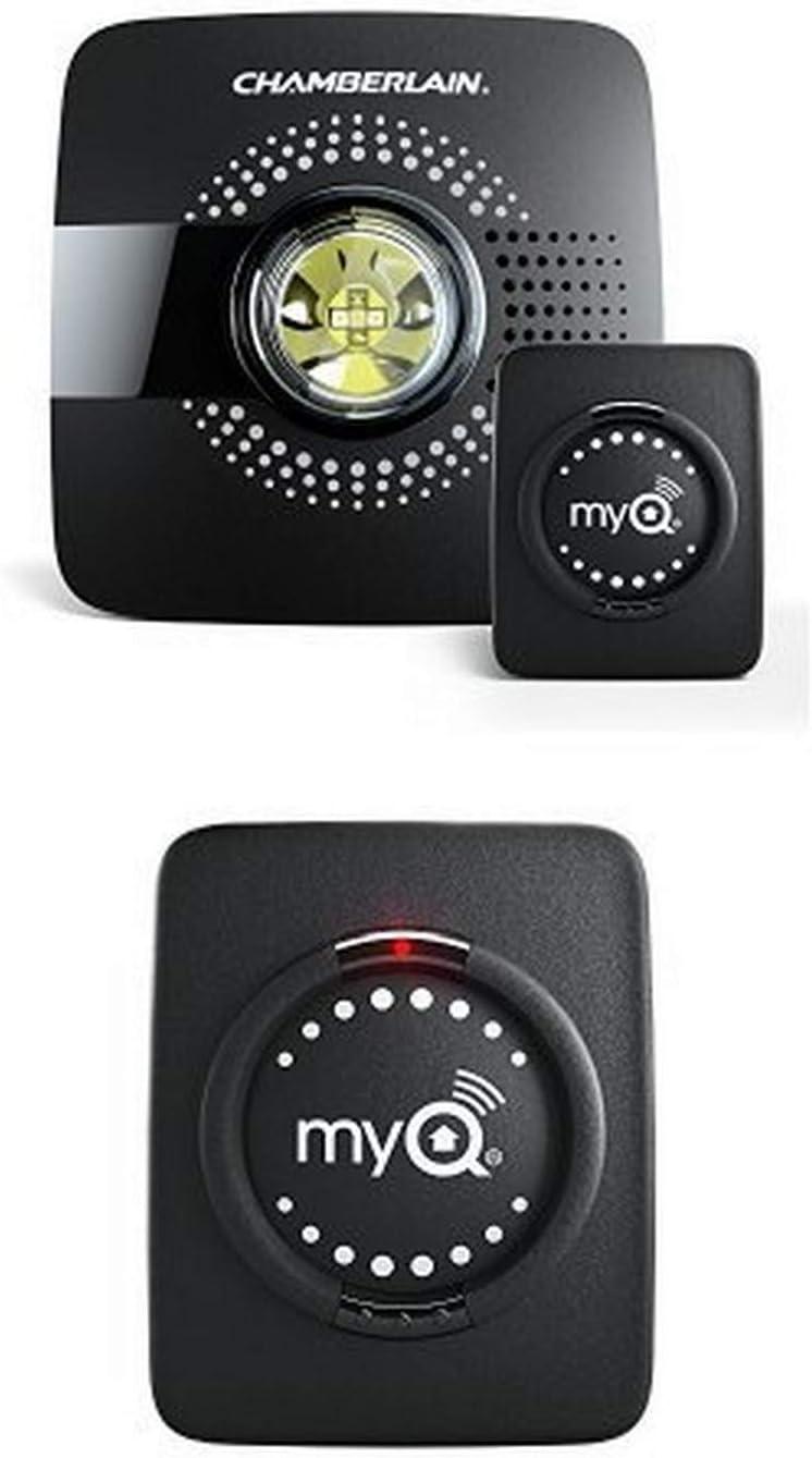 Chamberlain Smart Garage Hub MYQ-G0301 – Upgrade your Existing Garage Door Opener with MyQ Smart Phone Control w/ MyQ Smart Garage Hub Add-on Door Sensor