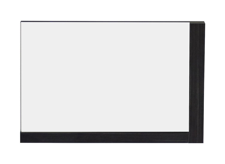 American Imaginations AI-13-611 Modern Plywood-Melamine Wood Mirror, 32-Inch x 24-Inch, Dawn Grey Finish