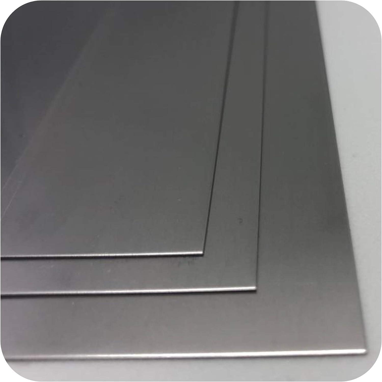 Longueur 500 mm Largeur au choix T/ôle dacier 4 mm