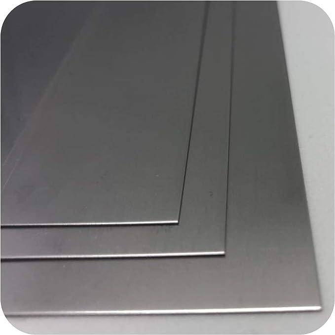 Edelstahlblech 1mm Edelstahl Platte V2A Blech 1.4301 nach Auswahl
