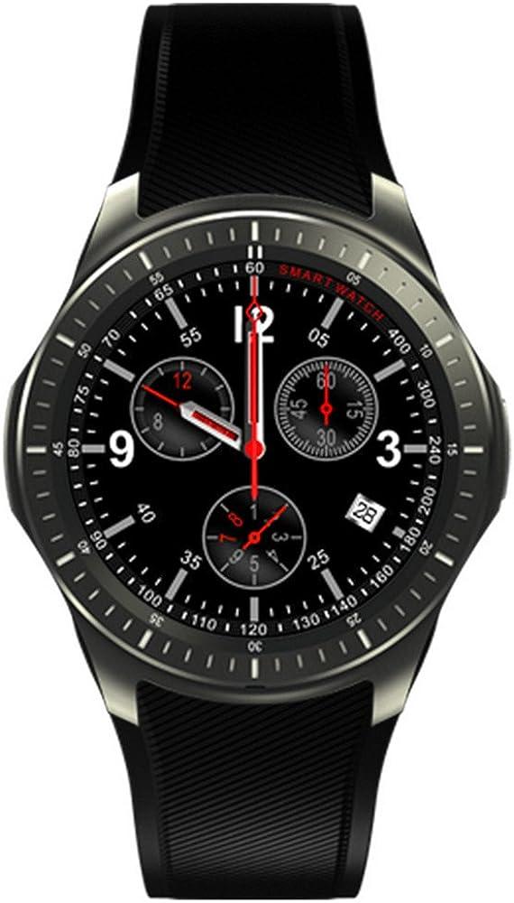 dm368 Smart Watch AMOLED pantalla redonda Pulsómetro GPS llamadas ...