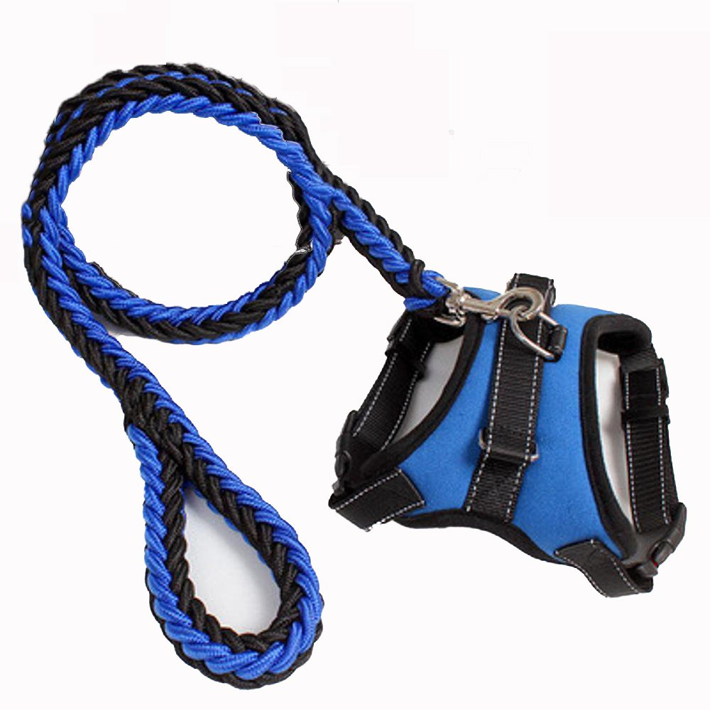 Hjyi Large Dog Traction Rope in pet Chest Strap