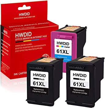 Amazon.com: hwdid 61 x l Cartucho de tinta remanufacturado ...