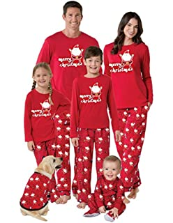 Matching Family Pjs Christmas Entire Family Jammies Cotton Pajamas Sets Best Kids Sleepwear Xmas A2