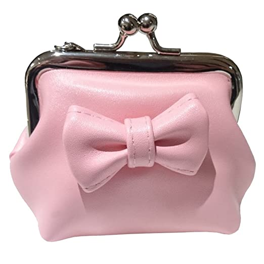 Vintage & Retro Handbags, Purses, Wallets, Bags Banned Coin Pouch - Sienna Pink $12.95 AT vintagedancer.com