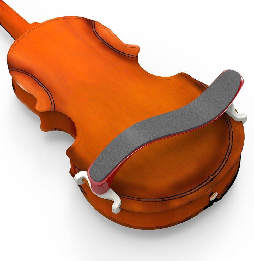 /legno stile Bakerii violino spalliera altezza e angolazione regolabili piedi Fit con un basso naturale polvere colofonia/ Spalliera violino 4//4/ /3//4/size