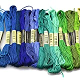 Flurries 🌈 50 Colors Embroidery Floss Kit with