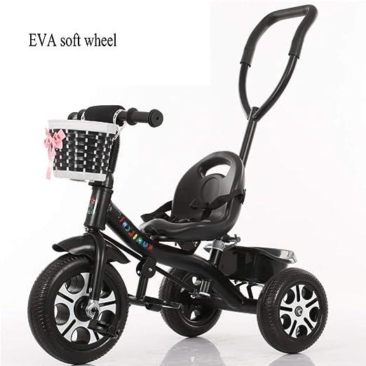 LZQBD Childrens Fun/Los niños del Triciclo Bici Carro de bebé del ...