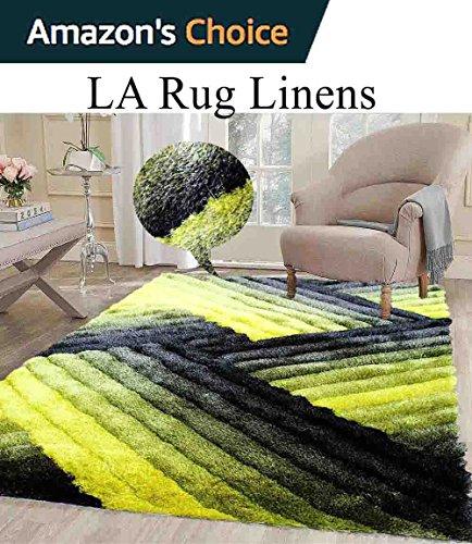 Linen Contemporary Rug - 3