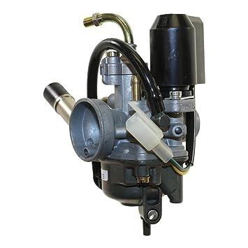 Carburador Dell Orto Phva 12 KS para Malaguti F12 F15 Bj 2002 tipo 06333: Amazon.es: Coche y moto