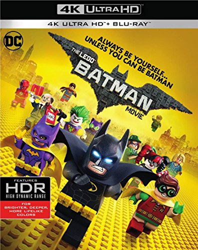 4K Blu-ray : The Lego Batman Movie (With Blu-Ray, Ultraviolet Digital Copy, 4K Mastering, 2 Pack, 2 Disc)