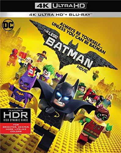 The LEGO Batman Movie (4K/UHD + Blu-ray + Digital)