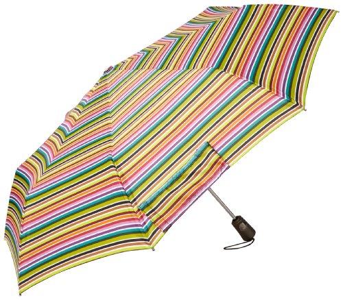 Totes Strong Compact Umbrella Stripe