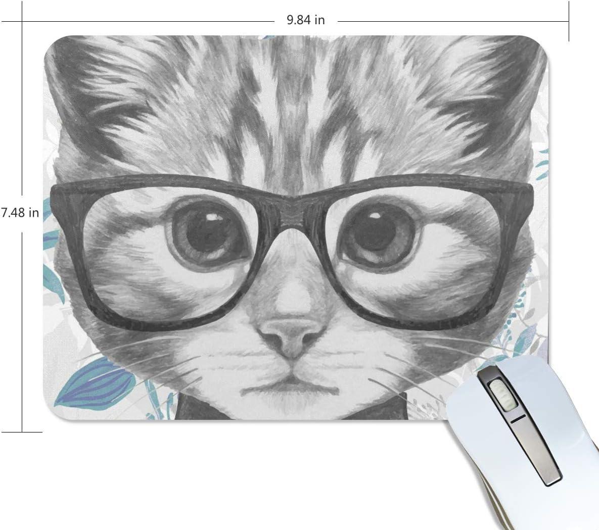 "Cat Mouse Pad 8.5/"" x 7/'/' NEW Mousepad Gaming Mat"
