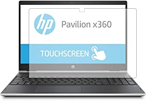 "PcProfessional Screen Protector (Set of 2) for HP Pavilion X360 15 CR Series cr0051cl cr0051od 15.6"" Touch Screen Laptop Anti Glare Anti Scratch"