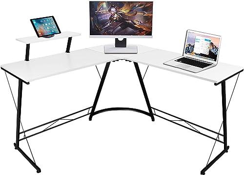 Modern L Shape Desk Home Office Computer Desk