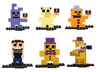 Crying Child Five Nights at Freddys 8-Bit Buildable Figure