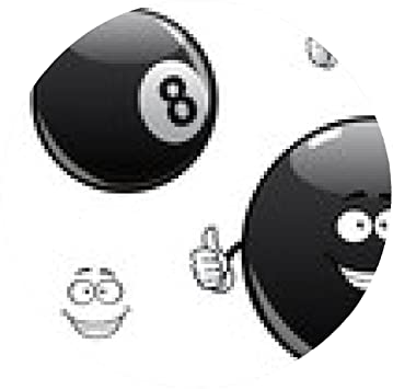 alfombrilla de ratón billares de dibujos animados, billar, bola ...