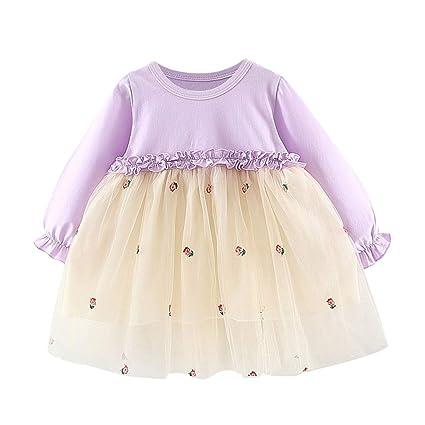 Vovotrade - Falda de tul con mangas largas para niñas y niños ...