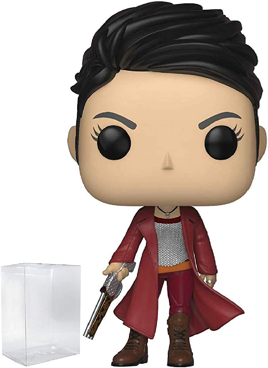 *NEW* Mortal Engines Hester Shaw POP Vinyl Figure Box Protector by Funko