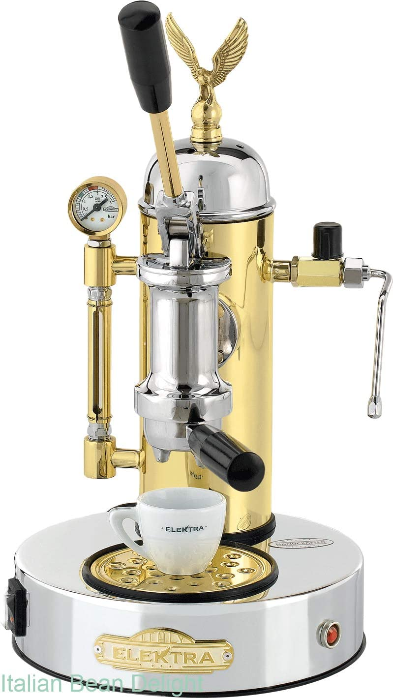 Elektra ART.S1CO Microcasa A Leva Espresso Machine - Chrome ...