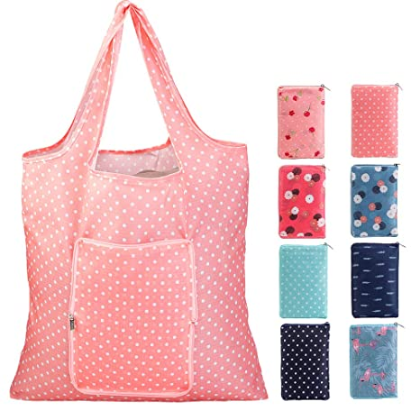 Amazon.com: Juego de bolsas de comestibles reutilizables ...