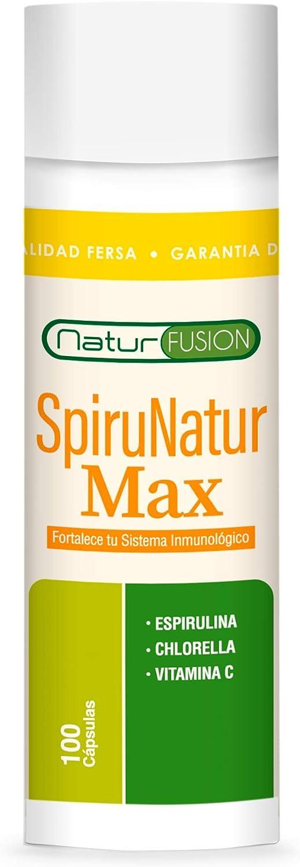 Espirulina Pura con Chlorella y Vitamina C | Espirulina con 99% de ...