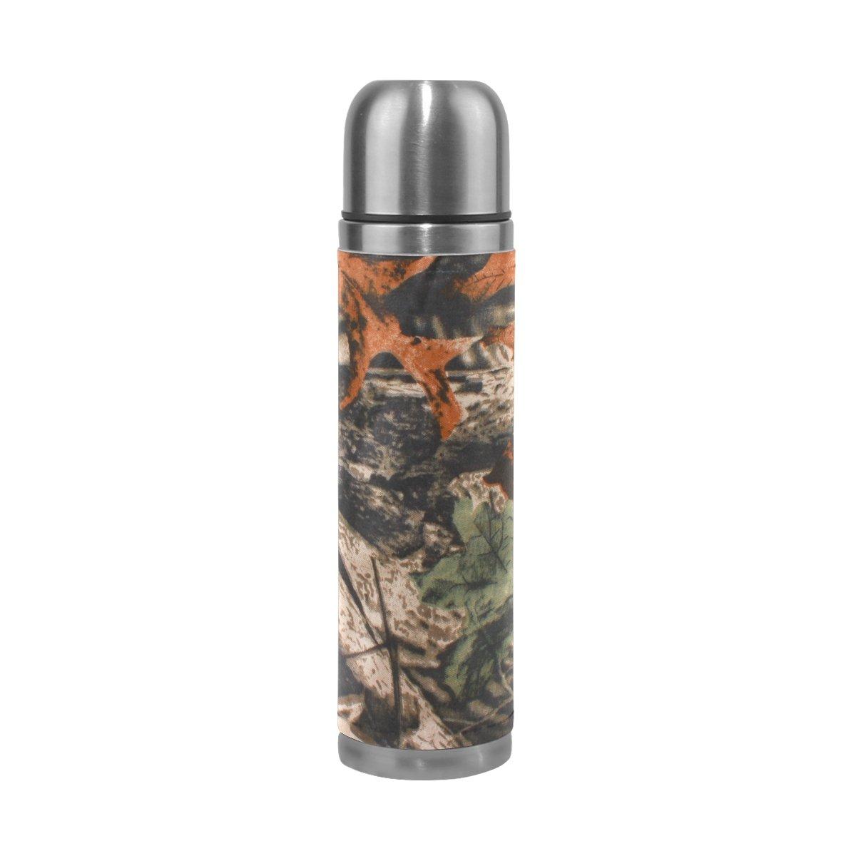 2019特集 Alaza Real Real Tree Camouflage真空断熱ステンレススチール水ボトル二重壁構造Leak B07546RMHT Proof魔法瓶フラスコ本革カバー17 oz Tree B07546RMHT, 宇土市:8c79a928 --- a0267596.xsph.ru