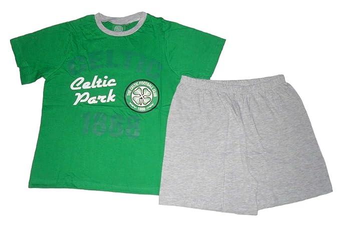 Celtic F.C. - Pijama dos piezas - para niño green & grey
